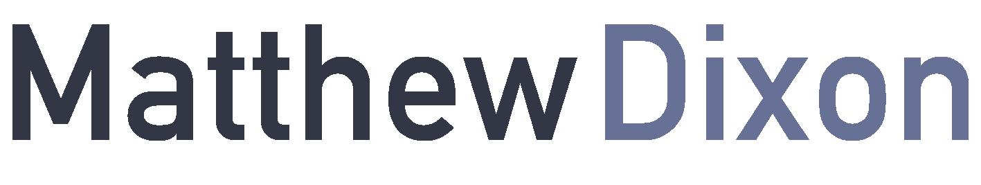 Matthew Dixon Logo